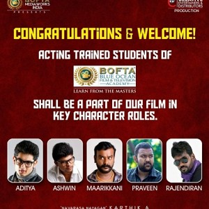 BOFTA Film institute students to act in a big film