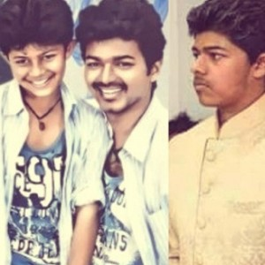 Rare photos of Vijay's son Sanjay