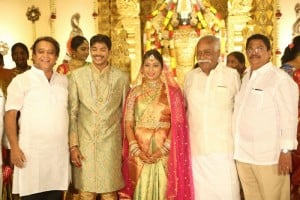 Film Producer C Kalyan Son Wedding Reception