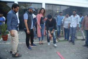 Okka Kshanam Movie Success Celebrations
