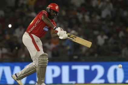 Chris Gayle smashes first century of IPL 2018.