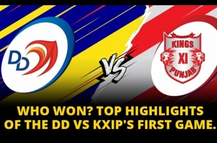 Match 2, KXIP vs DD: Who won the match?