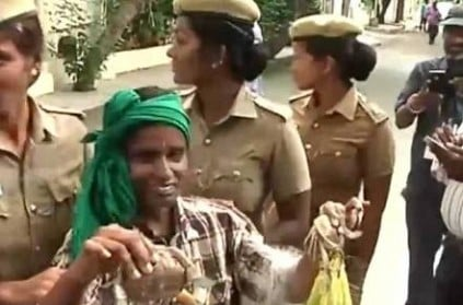 Chennai: Woman detained for trying to drop crabs in minister's house.