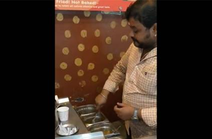 Coimbatore man makes music while selling sweet corn