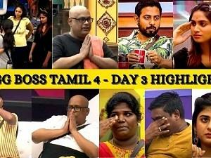 Bigg Boss Tamil 4 - Day 3 - Top Highlights of the day!