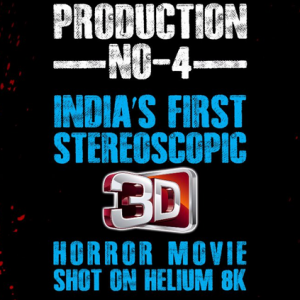 Important update on India's first stereoscopic 3D horror movie