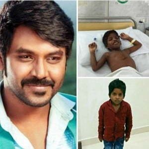 """He came with a hole in his heart and has..."" - Raghava Lawrence"
