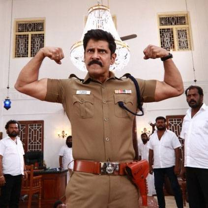 Shooting update of Vikram's Saamy 2