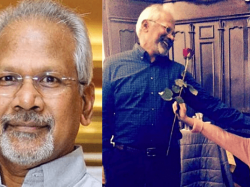 Popular director surprised by seeing the 'super-serious' Mani Ratnam blush - Here's the viral picture!