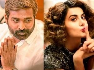 Vijay Sethupathi and Taapsee Pannu's film gets bigger with this latest interesting addition!