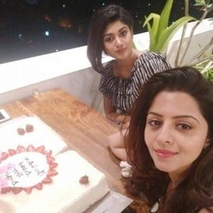 Actress Vedhika Birthday Celebration