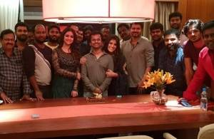 AR Murugadoss birthday celebration with Sarkar team