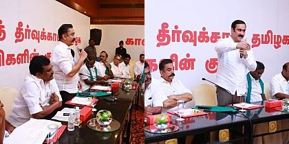 Who all supported Kamal's initiative for permanent solution for Cauvery & Farmers issue?