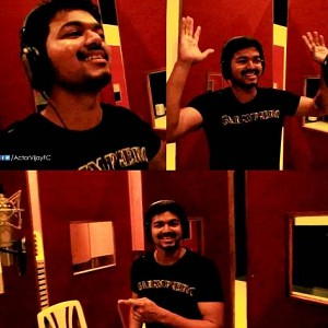 You will be surprised to know that Vijay has sung for all these music directors